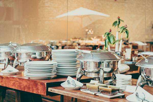 buffet style event